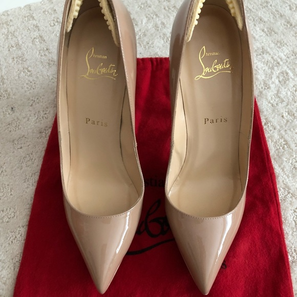 huge selection of bdf06 7495b Christian Louboutin Pigalle Plato 140 patent calf